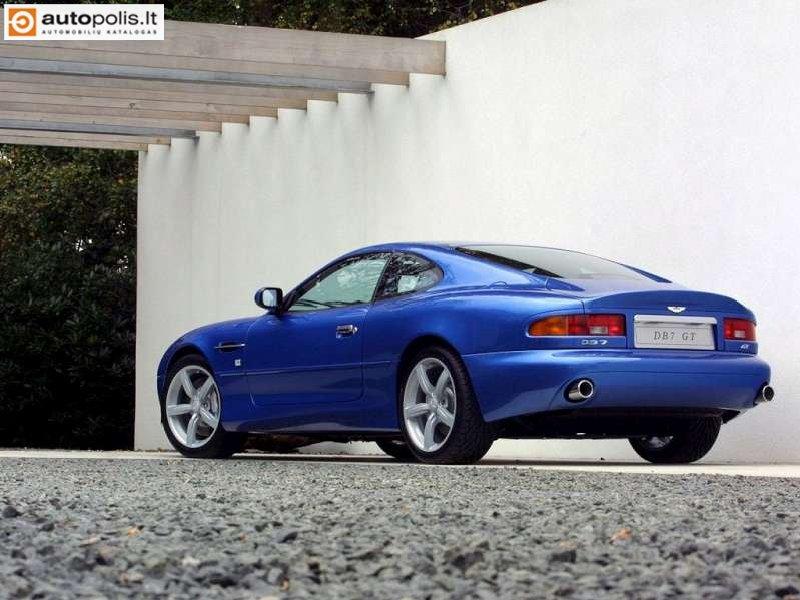 Aston Martin DB7 nuotraukos