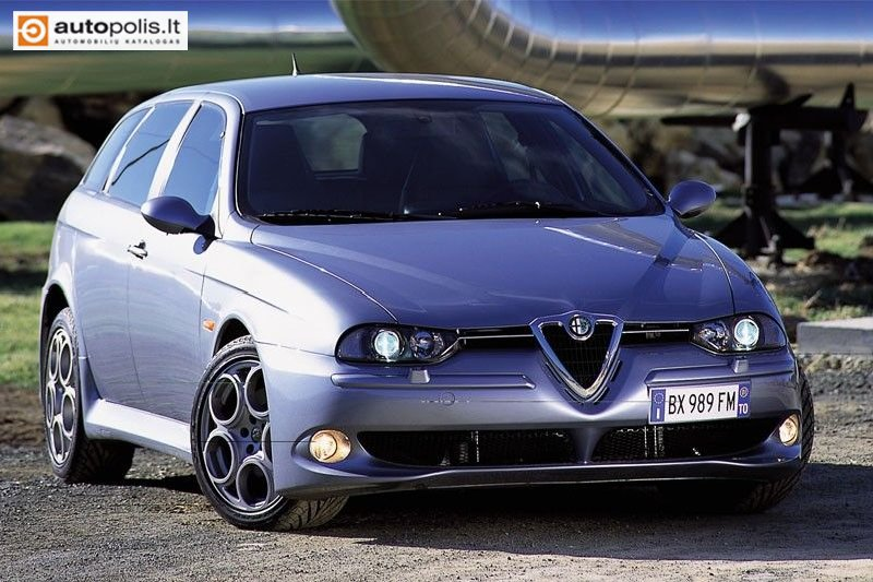 (Alfa Romeo 156 Sport Wagon). 2003 Alfa Romeo 156 2.4 JTD
